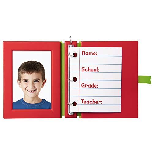 Hallmark Keepsake Christmas Ornament 2019 Year Dated School Days Notebook Photo Frame