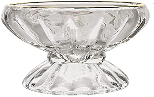 showyow Ice Cream Cups, Sundae Dessert Bowls Party Supplies Cocktail Glasses Pudding And Jelly Bowls For Birthday Weddings Hotels Bar & Café Decoration Bowls Cake Stands(Size:10.5 * 5.8cm)