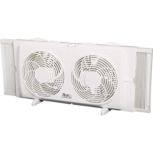 Best Comfort 7 In. Twin Window Fan
