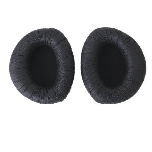 Un Par de Almohadillas de Reemplazo de Auriculares para RS160 RS170 RS180 de Color Negro