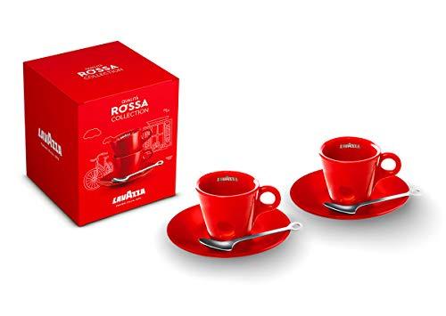 Juego de tazas de calidad roja – Lavazza – Limited Edition