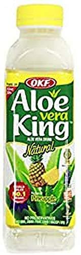 OKF Aloe Vera Getränk Ananas, 20er Pack von 500 ml, Ein schönes frisches Getränk aus Südkorea, Premium Qualität