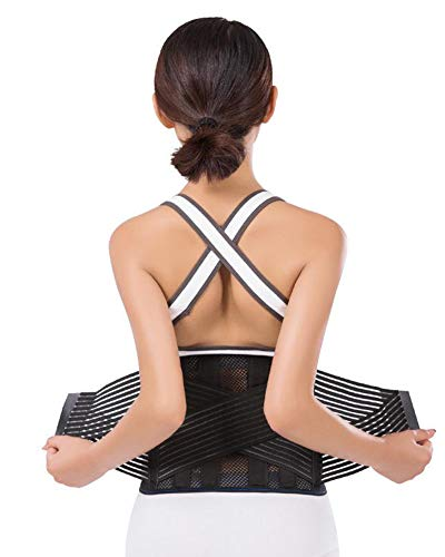 DaiHan Cinturón de Apoyo posparto - Ceñidor/corsé de Maternidad Post, Banda para el Vientre/Barriga/Cintura y Apoyo para la Espalda - Transpirable y elástico Aspic 1 M