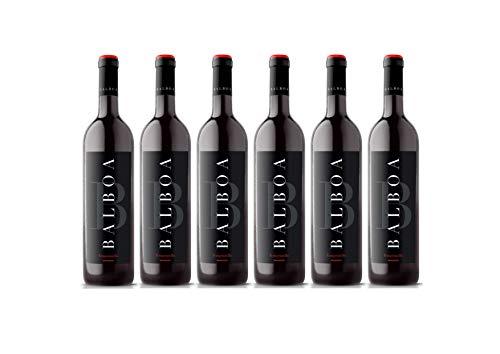 Pack 6 botellas BODEGAS TIARA Vino Tinto Balboa Tempranillo