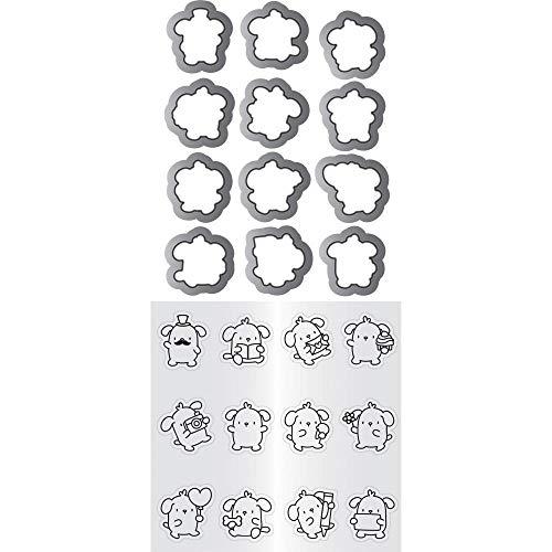 Hampton Art Mama Elephant Clear Stamp & Die Set 4.125'X10.5'-Mini Dog Agenda