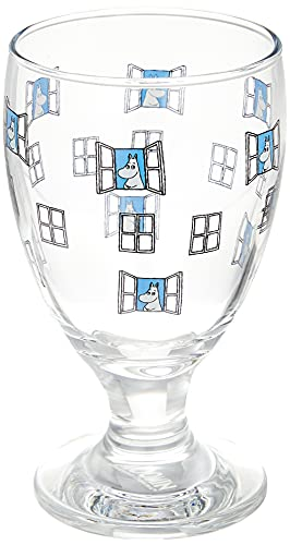MOOMIN(ムーミン) ジュースグラス simple ムーミン MM-G013 クリア