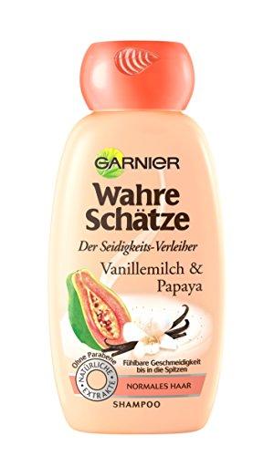 Garnier Wahre Schätze Shampoo, bis in die Spitzen, 1er Pack (1 x 250 ml)