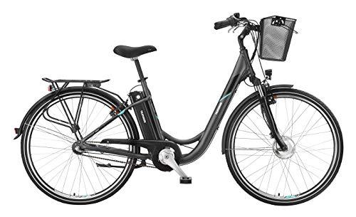 Telefunken E-Bike 28 Zoll Elektrofahrrad - Rücktritt & 3-Gang Shimano Nabenschaltung, Pedelec Citybike Alu mit Fahrradkorb, 250W und 10Ah, 36V Sitzrohrakku, RC745 Multitalent*