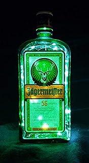 Jägermeister - Lámpara de botella (80 ledes, luz blanca fría)