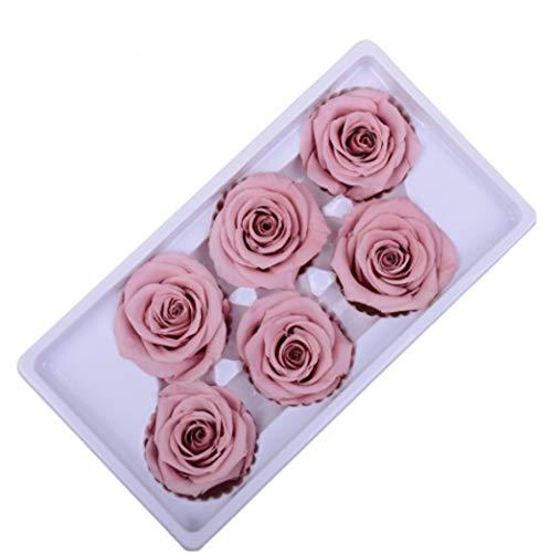 8pcs Rosa de San Valentín para Mujer Flores Artificiales Rosa DIY para Novia Regalo Rosa para el Día de San Valentín,el Día de Madre, Mujer,Novia, Esposa,Aniversario,Cumpleaños Regalo (Amarillo)