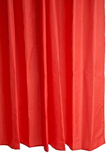 Galzone Duschvorhang 2x1,8m rot