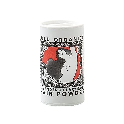 Lulu Organics Lavender & Clary Sage Hair Powder / Dry Shampoo - 1 oz