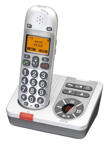 AUDIOLINE BigTel 280 schnurloses Großtastentelefon mit Anrufbeantworter