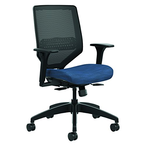 HON SVM1ALC90TK Solve Series Mesh Back Task Chair, Midnight