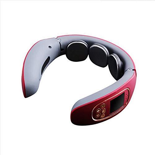 Masajeador de cuello en forma de U Inteligente Inalámbrico Portátil 3D Equipo de Masaje de Cuello TENS Diseño de Pulso Para Oficina Deporte en Casa 4