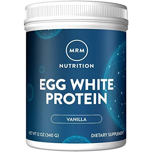 MRM Natural Egg White Protein Powder - Rich Vanilla - 12oz