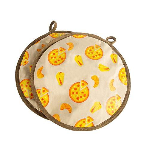 rethyrel Tortilla Insulation Bag-12 Zoll Tortilla Warmer Isolierter Und Mikrowellengeeigneter Stoffhalter Beutel Hält Bis Zu Einer Stunde Warm Für Mais Oder Mehl Taco, Pizza, Brot