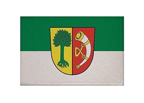 U24 Aufnäher Friedrichshafen Fahne Flagge Aufbügler Patch 9 x 6 cm