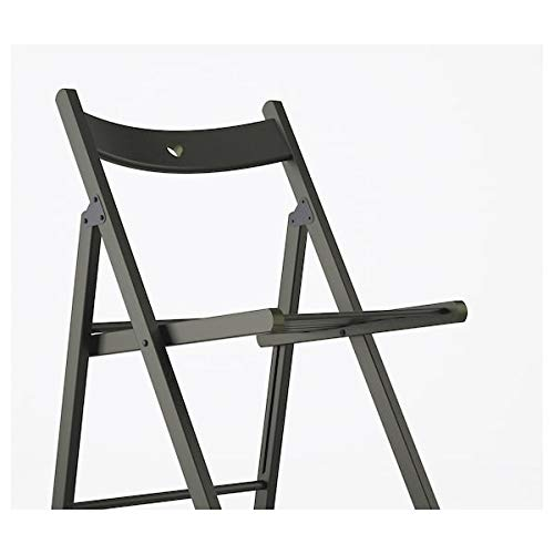 UK Bargain Seller TERJE Klappstuhl, schwarz, 44 x 51 x 77 cm, robust und pflegeleicht. Klappbare Stühle, Esszimmerstuhl, Stühle, Möbel, umweltfreundlich.