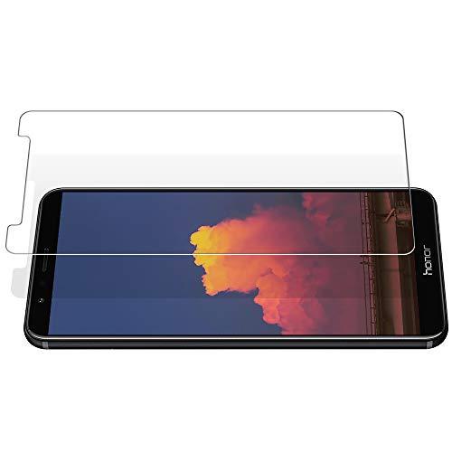TOCYORIC Panzerglas Displayschutzfolie für Huawei Honor 7X, Ultra Dünn HD Transparenz Schutzfolie Anti-Öl, Anti-Kratzer, Blasenfrei, 9H Gehärtetes Glas Displayschutz für Huawei Honor 7X, 2 Stück - 6