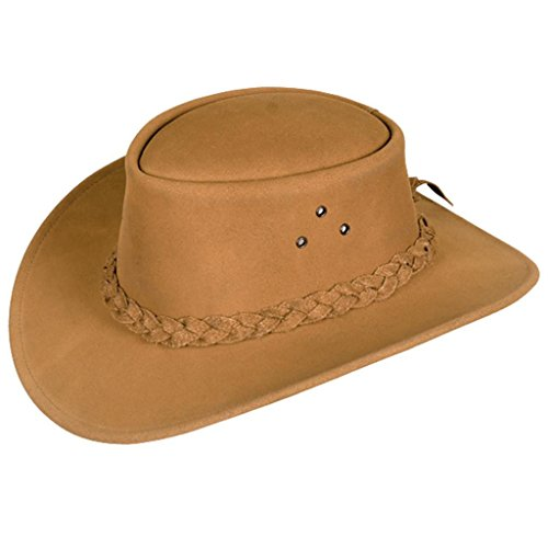 Classic Kakadu Echuca Mossback Leather Hat 2nd Choice