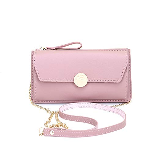Cyber Deals Monday Sales Womens Cellphone Purse Leather Crossbody Shoulder Tote Handbag Clutch Phone Bag Cellphone Holster Wallet Travel Carring Case Messenger Bag for iPhone 8 Plus Xs Max Samsung