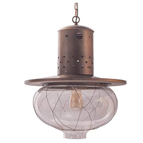 SPNEC Pantallas de iluminación de la lámpara Pendiente Simple y Elegante de Vidrio, Exquisita decoración Interior de la lámpara