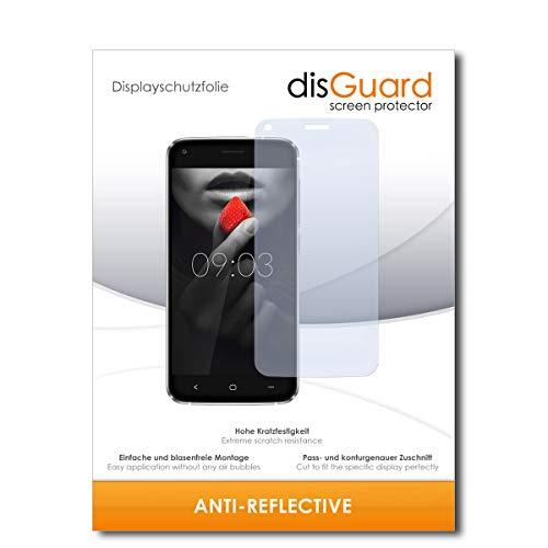 disGuard® Bildschirmschutzfolie [Anti-Reflex] kompatibel mit Kiano Elegance 5.1 Pro [2 Stück] Entspiegelnd, Matt, Antireflektierend, Extrem Kratzfest, Anti-Fingerabdruck - Panzerglas Folie, Schutzfolie