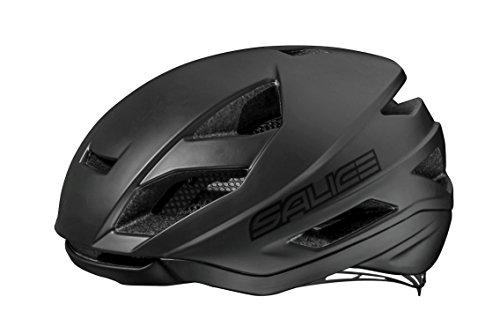Salice Levante - Casco de Ciclismo, Color Negro, Talla 52-58 cm