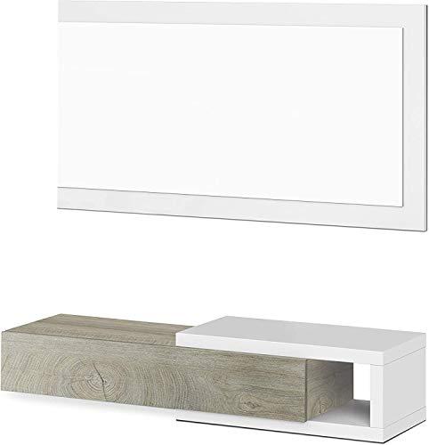 Muebles Auxiliares Recibidor Blanco Marca Mobelcenter
