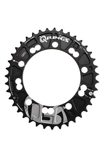 R ROTOR BIKE COMPONENTS Q Rings QX2 BCD110x5 Q40 Outer Black QX2