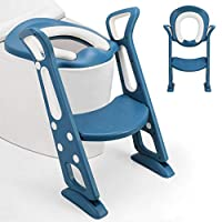 ALTA QUALITÀ: La toeletta è realizzata in materiale PP di alta qualità che gli consente di trasportare un carico fino a 75 kg. robusto, resistente, non tossico e inodore. Il cuscino del sedile è in PU resistente, morbido, impermeabile e antimuffa, no...