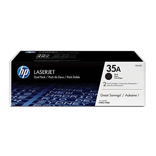 HP CB435AD Confezione Toner, confezione da 2 cartucce, Nero