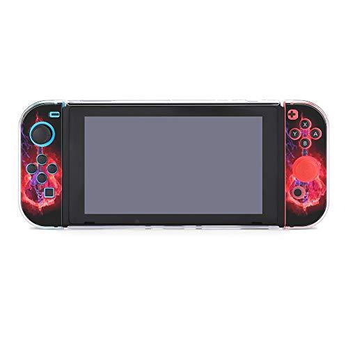 Schutzhülle für Nintendo Switch, Flamme Gitarre, langlebige Schutzhülle für Nintendo Switch und Joy Con
