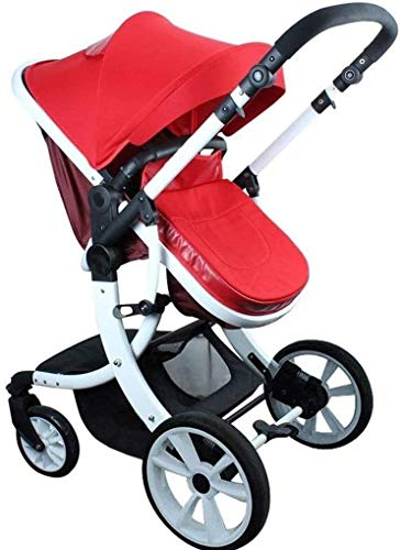 Review GPWDSN Multi-Function Baby Carriage, Baby Carriage High Landscape Can Sit Horizontal Portable...