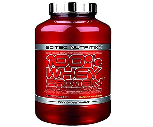 Scitec Nutrition 100% Whey Protein Professional Package of 1 x 2350g - Whey Protein Isolate and Concentrate with Amino Acids - BCAA - Sugar Free (Pumpkin Pie)