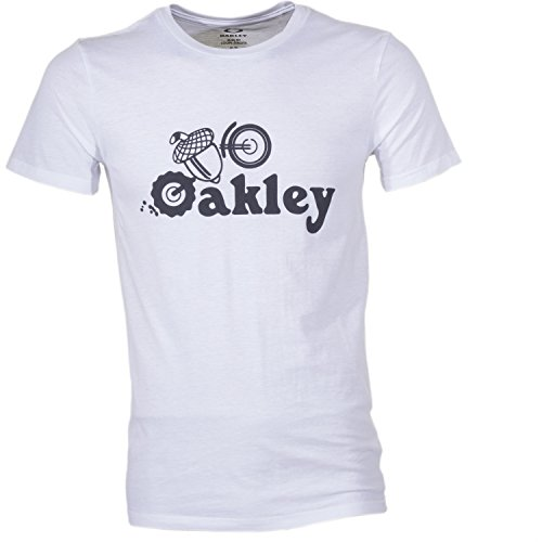 Oakley Nuts for Shirt Homme, White, FR : L (Taille Fabricant : L)