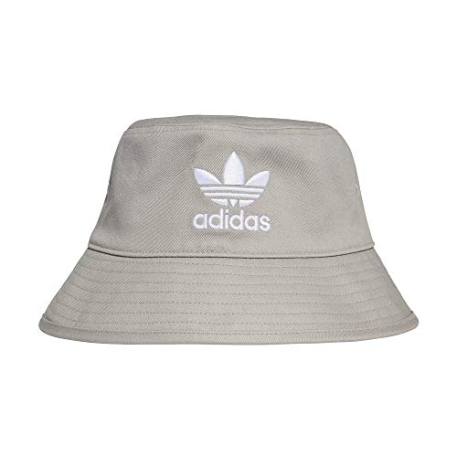 adidas Bucket Hat Fischerhut Sonnenhut (OSF Men, Grey/White)