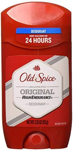 Old Spice High Endurance Original Scent Men's Deodorant, 2.25 Oz (Pack of 6)