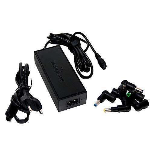 Tecnoware Power Systems Caricatore Universale 95W per Notebook - Alimentatore per PC con 10 Connettori Compatibile con Acer, ASUS, Sony, Toshiba, HP, Dell, LG, Lenovo, IBM, Fujitsu, Samsung