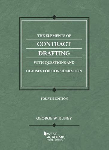 The Elements of Contract Drafting, 4th (Coursebook)