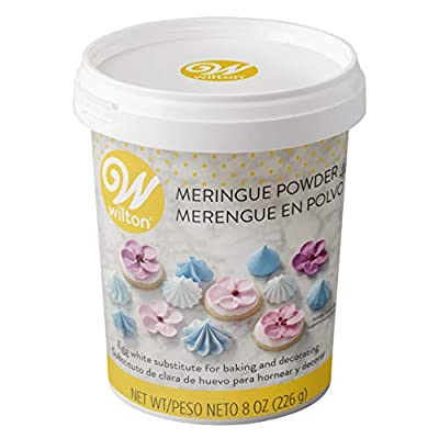 Wilton Meringue Powder Egg White Substitute, 8 oz.