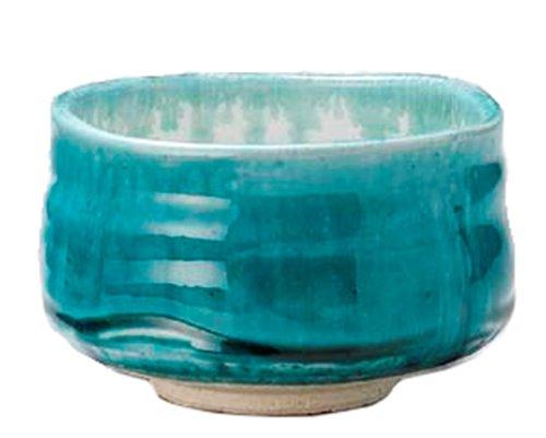 Mino-yaki Matcha Tea Bowl Turquoise Blue [Japan Import] by Mino Ware