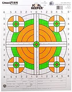Champion Score Keeper 100 Yard Sight-in Rifle Targets 14