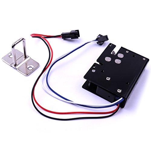 ATOPLEE Tür-Fach-Zunge-Down-Elektroschloss Montage Magnet DC 12V / 24V Slim Design Lock, 5 Arten (DC 12V, 3.4A)