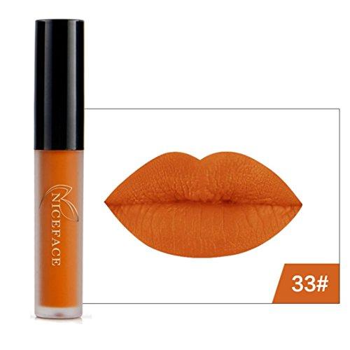 8 Colores Profesional Pintalabios Mate Labial de Maquillaje Larga Duracion para Niñas...
