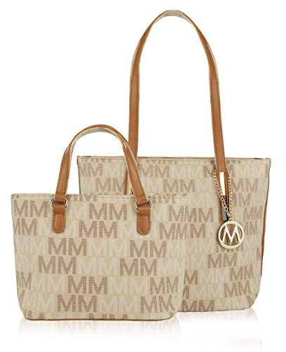 "Womens Designer Purses and Handbags Ladies Corinna ""M"" Signature Tote by Mia K. Farrow"