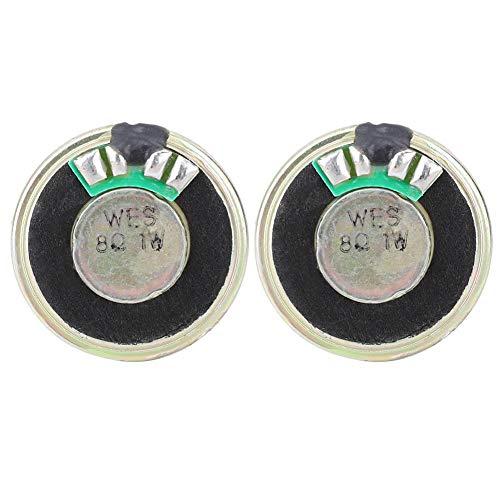 2pcs 8 Ohm 1W Lautsprecher Horn Audio Stereo Lautsprecher, ausgestattet mit Premium Magnet, 28mm Durchmesser