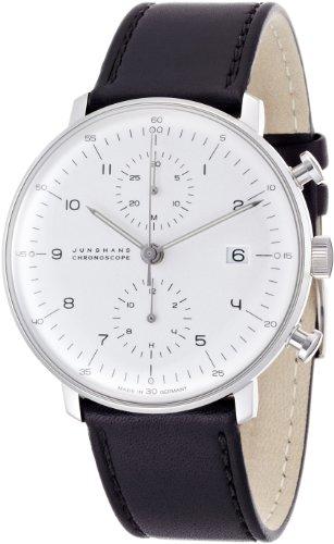 [ユンハンス] 腕時計 027 4800 00 メンズ 正規輸入品 ブラック