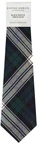 I Luv Ltd Gents Neck Tie Black Watch Dress Modern Tartan Military Lightweight Scottish Clan Tie
